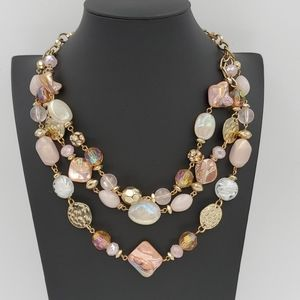 Ruby Rd. Mixed Beads Necklace